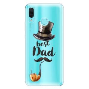 Odolné silikonové pouzdro iSaprio - Best Dad na mobil Huawei Nova 3