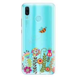 Odolné silikonové pouzdro iSaprio - Bee 01 na mobil Huawei Nova 3