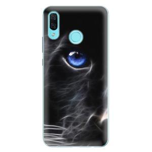 Odolné silikonové pouzdro iSaprio - Black Puma na mobil Huawei Nova 3