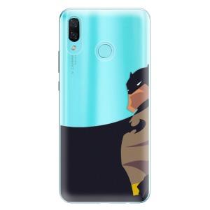 Odolné silikonové pouzdro iSaprio - BaT Comics na mobil Huawei Nova 3