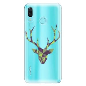 Odolné silikonové pouzdro iSaprio - Deer Green na mobil Huawei Nova 3