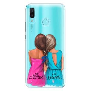 Odolné silikonové pouzdro iSaprio - Best Friends na mobil Huawei Nova 3