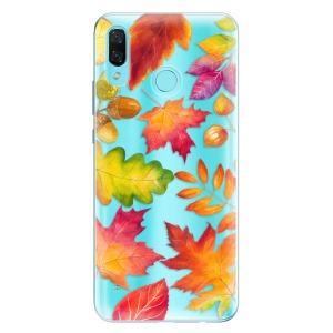 Odolné silikonové pouzdro iSaprio - Autumn Leaves 01 na mobil Huawei Nova 3