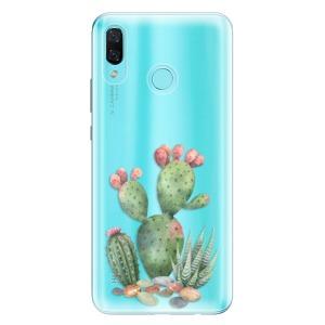 Odolné silikonové pouzdro iSaprio - Cacti 01 na mobil Huawei Nova 3