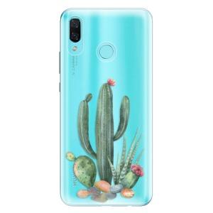 Odolné silikonové pouzdro iSaprio - Cacti 02 na mobil Huawei Nova 3