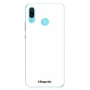 Odolné silikonové pouzdro iSaprio - 4Pure - bílé na mobil Huawei Nova 3