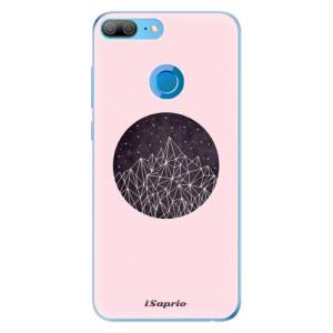 Odolné silikonové pouzdro iSaprio - Digital Mountains 10 na mobil Honor 9 Lite