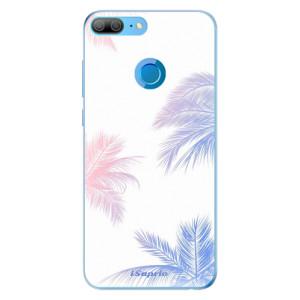 Odolné silikonové pouzdro iSaprio - Digital Palms 10 na mobil Honor 9 Lite