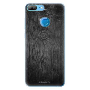 Odolné silikonové pouzdro iSaprio - Black Wood 13 na mobil Honor 9 Lite