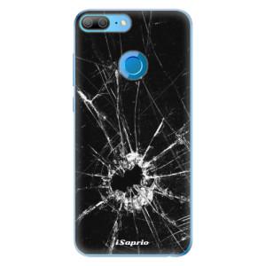 Odolné silikonové pouzdro iSaprio - Broken Glass 10 na mobil Honor 9 Lite