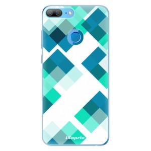 Odolné silikonové pouzdro iSaprio - Abstract Squares 11 na mobil Honor 9 Lite