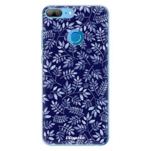 Odolné silikonové pouzdro iSaprio - Blue Leaves 05 na mobil Honor 9 Lite