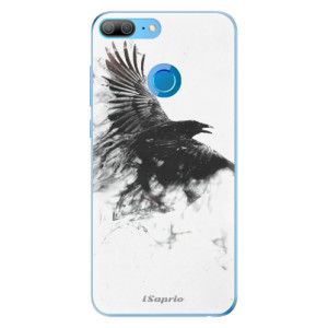 Odolné silikonové pouzdro iSaprio - Dark Bird 01 na mobil Honor 9 Lite