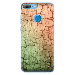 Odolné silikonové pouzdro iSaprio - Cracked Wall 01 na mobil Honor 9 Lite