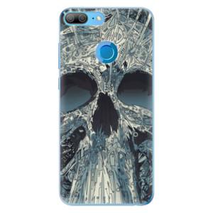 Odolné silikonové pouzdro iSaprio - Abstract Skull na mobil Honor 9 Lite