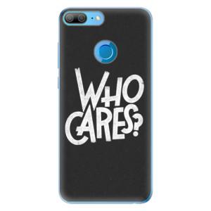 Odolné silikonové pouzdro iSaprio - Who Cares na mobil Honor 9 Lite