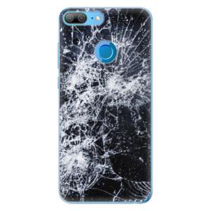 Odolné silikonové pouzdro iSaprio - Cracked na mobil Honor 9 Lite
