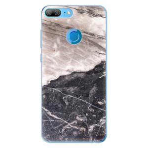 Odolné silikonové pouzdro iSaprio - BW Marble na mobil Honor 9 Lite