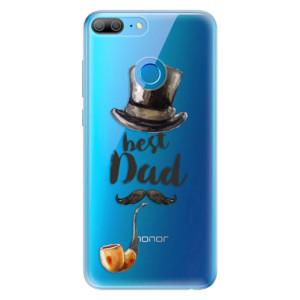 Odolné silikonové pouzdro iSaprio - Best Dad na mobil Honor 9 Lite