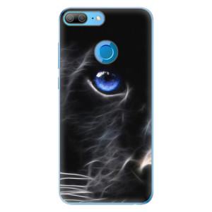 Odolné silikonové pouzdro iSaprio - Black Puma na mobil Honor 9 Lite