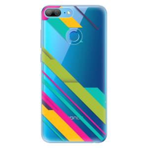 Odolné silikonové pouzdro iSaprio - Color Stripes 03 na mobil Honor 9 Lite