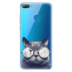 Odolné silikonové pouzdro iSaprio - Crazy Cat 01 na mobil Honor 9 Lite