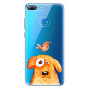 Odolné silikonové pouzdro iSaprio - Dog And Bird na mobil Honor 9 Lite