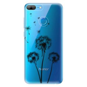 Odolné silikonové pouzdro iSaprio - Three Dandelions - black na mobil Honor 9 Lite