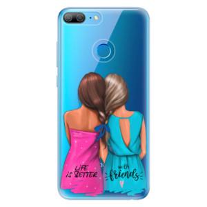 Odolné silikonové pouzdro iSaprio - Best Friends na mobil Honor 9 Lite