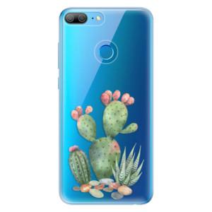 Odolné silikonové pouzdro iSaprio - Cacti 01 na mobil Honor 9 Lite