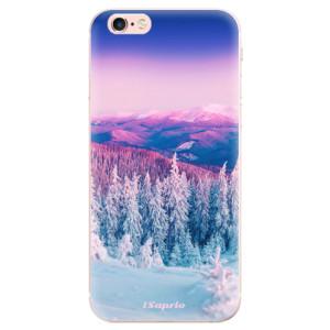 Odolné silikonové pouzdro iSaprio - Winter 01 na mobil Apple iPhone 6 Plus / 6S Plus - poslední kousek za tuto cenu