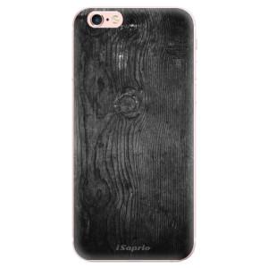 Odolné silikonové pouzdro iSaprio - Black Wood 13 na mobil Apple iPhone 6 Plus / 6S Plus