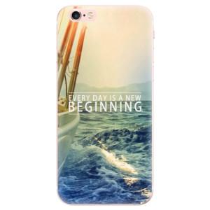 Odolné silikonové pouzdro iSaprio - Beginning na mobil Apple iPhone 6 Plus / 6S Plus