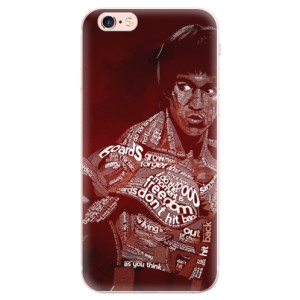 Odolné silikonové pouzdro iSaprio - Bruce Lee na mobil Apple iPhone 6 Plus / 6S Plus
