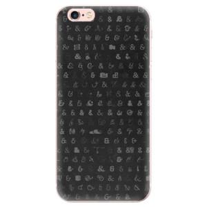Odolné silikonové pouzdro iSaprio - Ampersand 01 na mobil Apple iPhone 6 Plus / 6S Plus