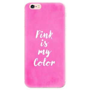 Odolné silikonové pouzdro iSaprio - Pink is my color na mobil Apple iPhone 6 Plus / 6S Plus - poslední kousek za tuto cenu