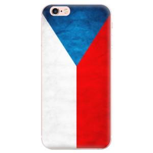 Odolné silikonové pouzdro iSaprio - Czech Flag na mobil Apple iPhone 6 Plus / 6S Plus