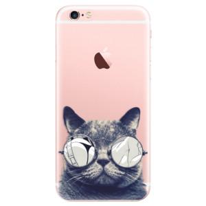 Odolné silikonové pouzdro iSaprio - Crazy Cat 01 na mobil Apple iPhone 6 Plus / 6S Plus