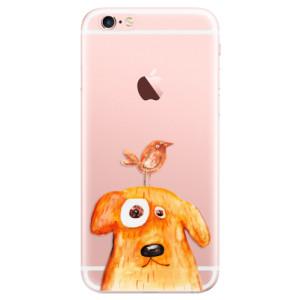 Odolné silikonové pouzdro iSaprio - Dog And Bird na mobil Apple iPhone 6 Plus / 6S Plus