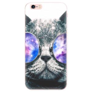 Odolné silikonové pouzdro iSaprio - Galaxy Cat na mobil Apple iPhone 6 Plus / 6S Plus