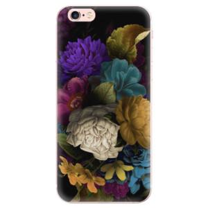 Odolné silikonové pouzdro iSaprio - Dark Flowers na mobil Apple iPhone 6 Plus / 6S Plus