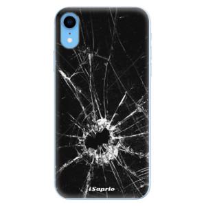 Odolné silikonové pouzdro iSaprio - Broken Glass 10 na mobil Apple iPhone XR