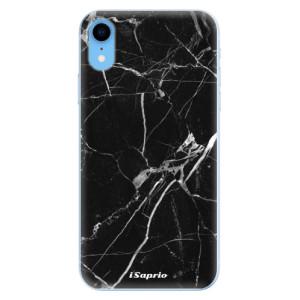 Odolné silikonové pouzdro iSaprio - Black Marble 18 na mobil Apple iPhone XR