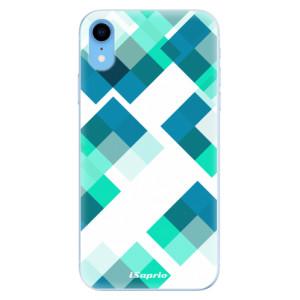 Odolné silikonové pouzdro iSaprio - Abstract Squares 11 na mobil Apple iPhone XR