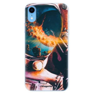 Odolné silikonové pouzdro iSaprio - Astronaut 01 na mobil Apple iPhone XR