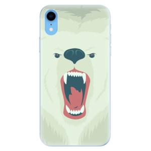 Odolné silikonové pouzdro iSaprio - Angry Bear na mobil Apple iPhone XR