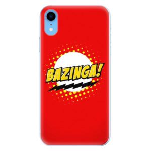 Odolné silikonové pouzdro iSaprio - Bazinga 01 na mobil Apple iPhone XR