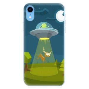 Odolné silikonové pouzdro iSaprio - Alien 01 na mobil Apple iPhone XR