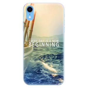 Odolné silikonové pouzdro iSaprio - Beginning na mobil Apple iPhone XR