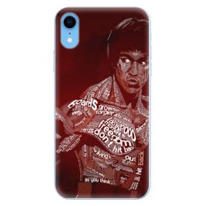 Odolné silikonové pouzdro iSaprio - Bruce Lee na mobil Apple iPhone XR